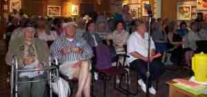 Wilmette Public Library Crowd.